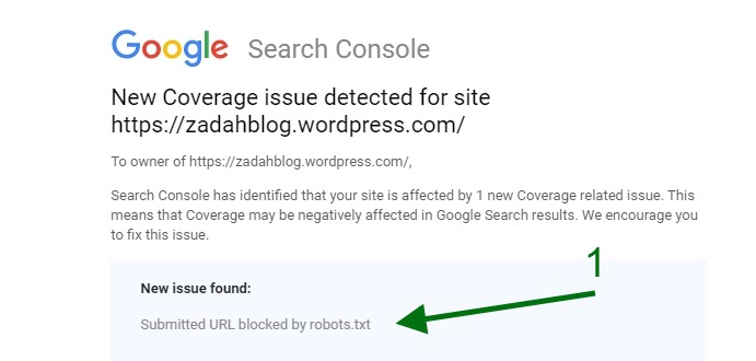 Build a Succesful Blog - Coverage Issue Detected