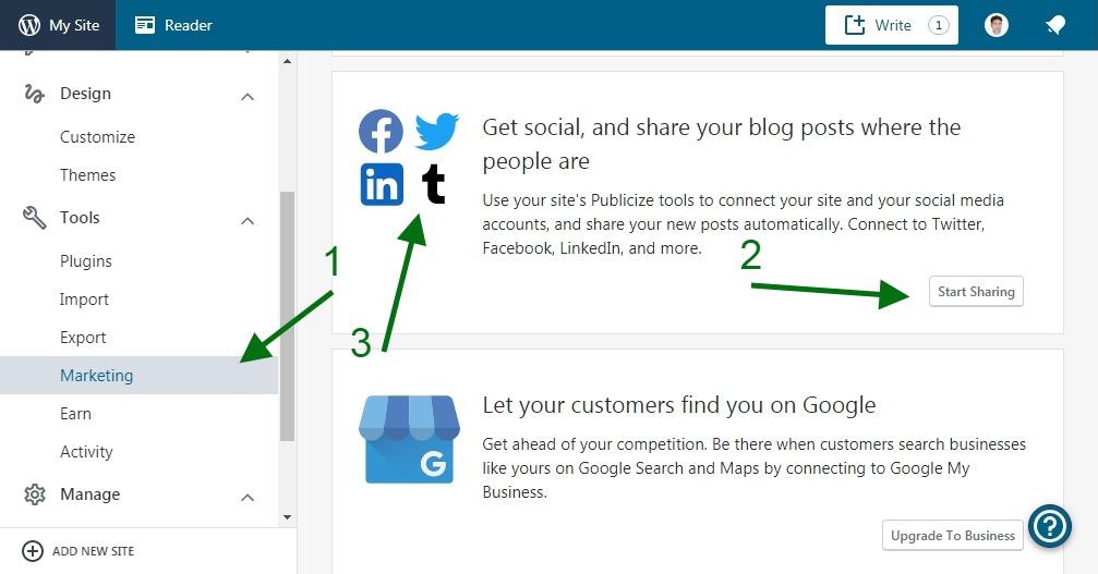 Build a Succesful Blog - WordPress Setting