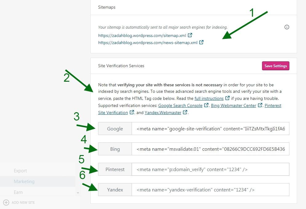 Build a Succesful Blog - wordpress.com Setup SEO
