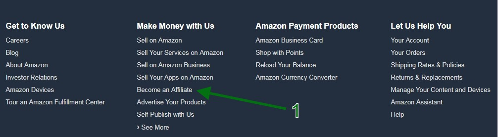 Build a Succesful Blog - Amazon Bottom Site View