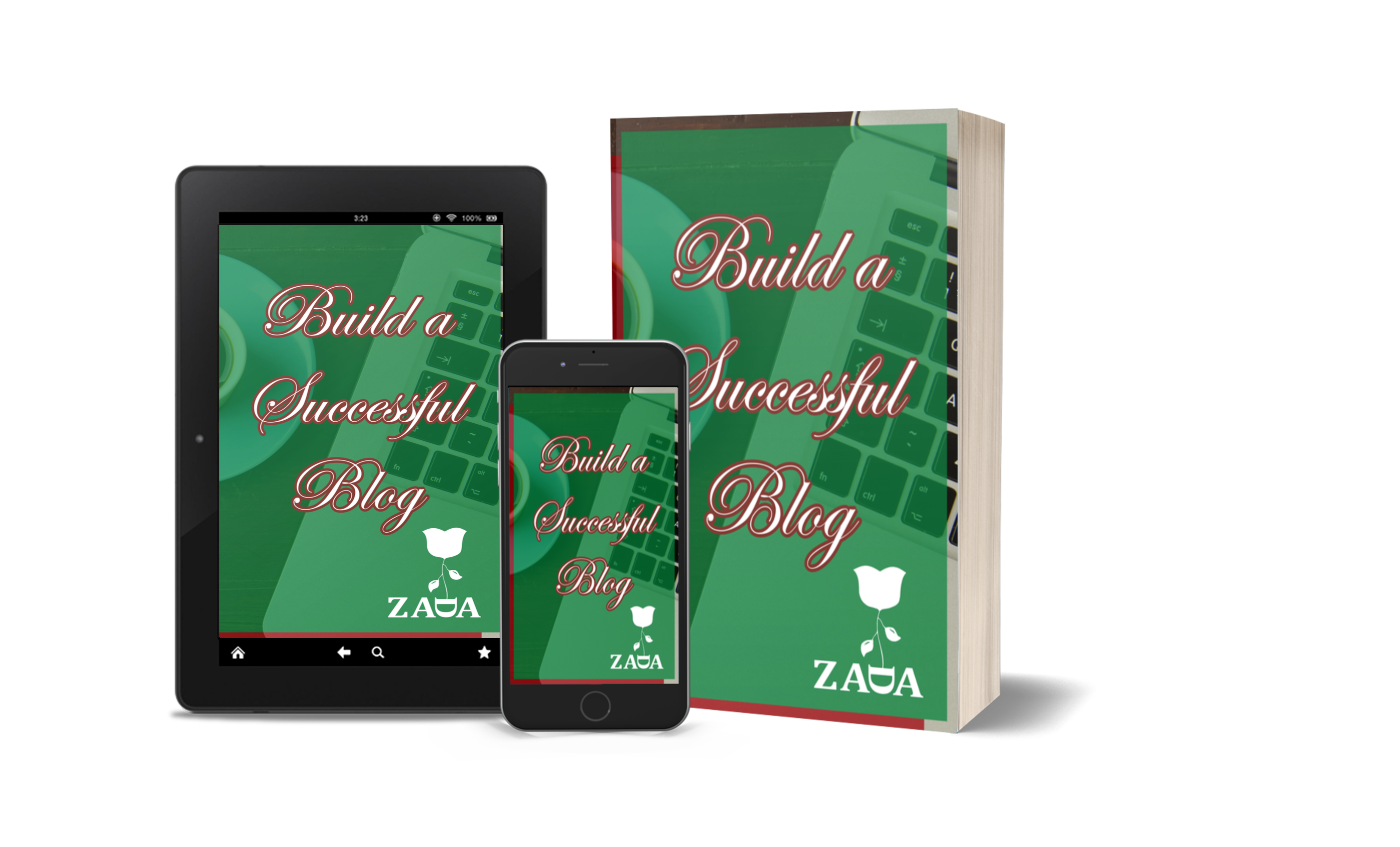 Build a Succesful Blog availabele in both formats on amazon