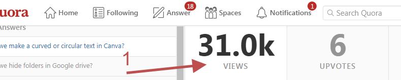Build a succesful blog - quora canva views