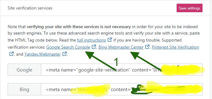 Build a Succesful Blog - search engine setup