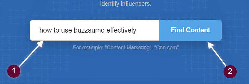 how to use buzzsumo effectively