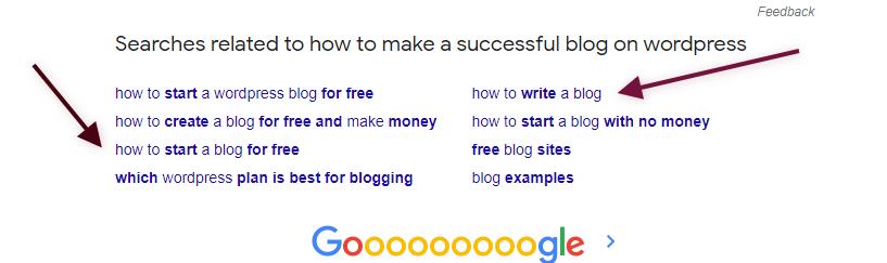 Expert blogger - Google down suggestion